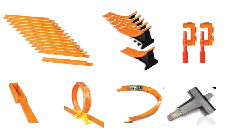 Hot Wheels Track builder Super dráha