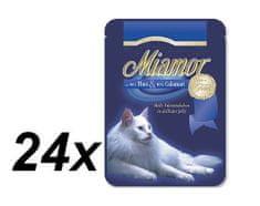 Finnern Miamor Tonhal filé és Kalamári macskaeledel 24x100g