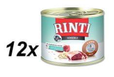 RINTI konserwa dla psa Sensible z jagnięciną i ryżem - 12 x 185g