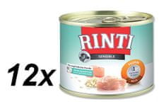 Rinti Sensible konzerva kuře + rýže 12 x 185g