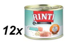 RINTI Sensible kurczak + ryż - 12 x 185g