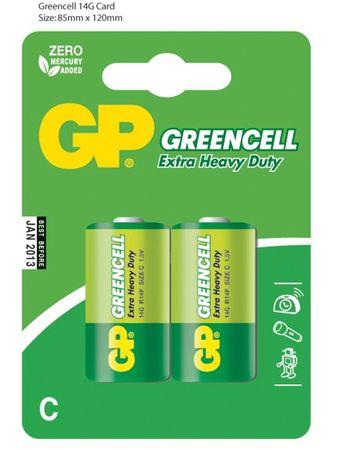 GP Baterija C 14G R14 BL
