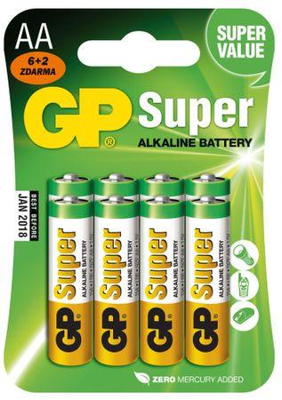 GP BATERIA GP 15A R06 BL 6+2