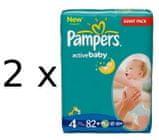 Pampers Active Baby Giantpack 4 Maxi - 164 szt