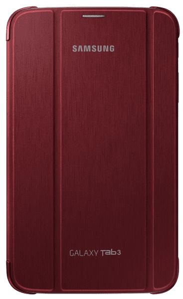 Samsung polohovací pouzdro EF-BT310BR, Samsung Galaxy Tab 3 8, červené - II. jakost