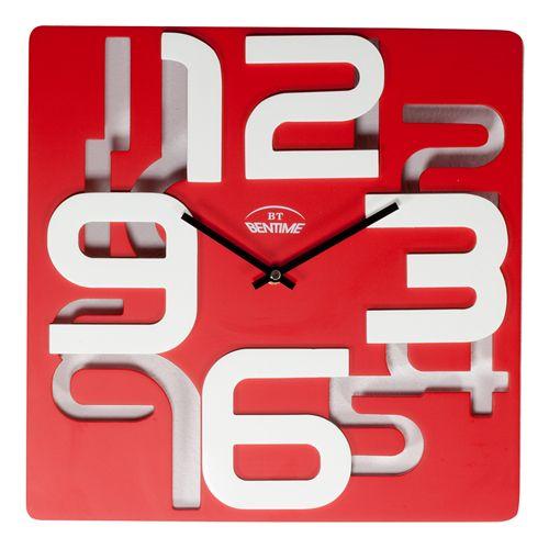 Bentime Nástěné hodiny H13-F64144R