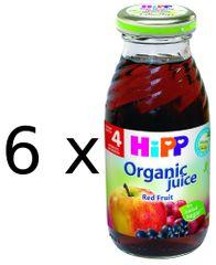 HiPP Šťava z červených plodov - 6x200ml