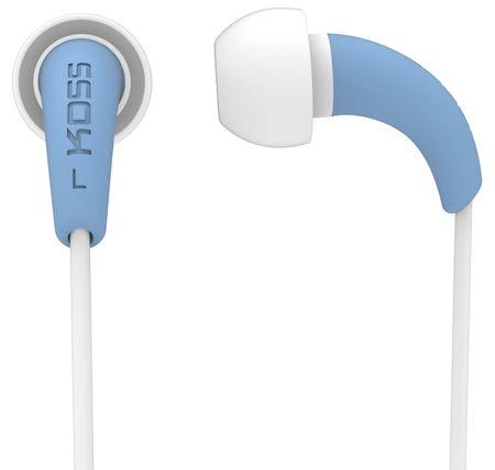 KOSS słuchawki douszne KEB/32, niebieski