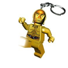 LEGO® Star Wars - C-3PO privjesak za ključeve s LED svjetlom