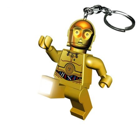 LEGO Star Wars - C3PO breloczek - LED