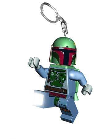LEGO Star Wars - Boba Fett breloczek - LED