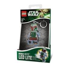 LEGO® Star Wars - Boba Fett privjesak za ključeve s LED svjetlomStar Wars - Boba Fett privjesak za ključev