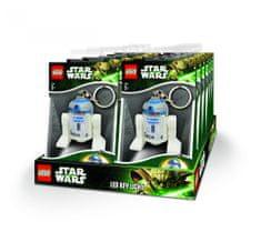 LEGO® Star Wars - R2-D2 privjesak za ključeve s LED svjetlom