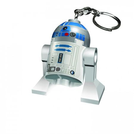 LEGO Star Wars - R2-D2 obesek za ključe z led lučjo