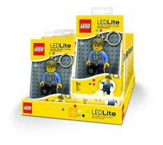 LEGO® CITY Chase McCain privjesak za ključeve s LED svjetlom