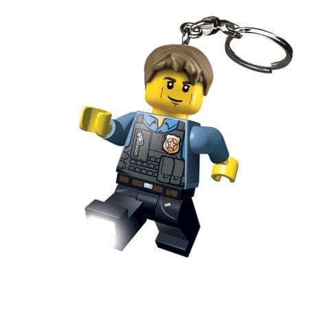 LEGO CITY Chase McCain obesek za ključe z led lučjo