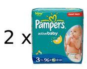 Pampers Active Baby Giantpack 3 Midi - 192 ks
