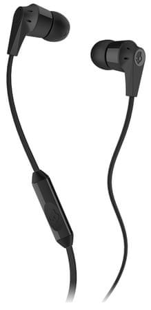 Skullcandy slušalke INK'D 2.0 z mikrofonom, črne