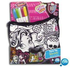 Color Me Mine Válltáska - Monster High Kreatív játék