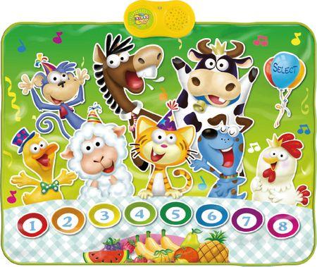 Alltoys Playmat állatos szőnyeg, zenélő