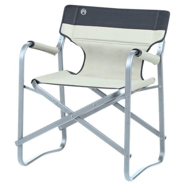 Coleman Deck Chair Beige