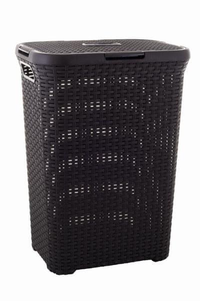 Curver Koš na špinavé prádlo RATTAN 60l 00707-210