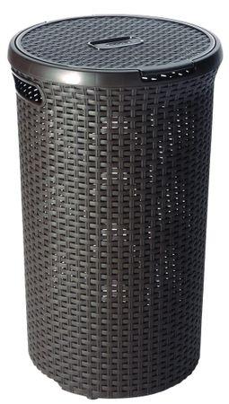 CURVER koš za rublje od ratana, 48 l, smeđa