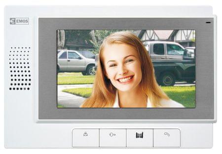 Emos barvni videodomofon RL-03 7inch, notranja enota
