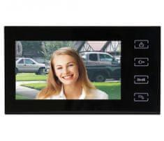 Emos barvni videodomofon RL-10, črni (H1114)