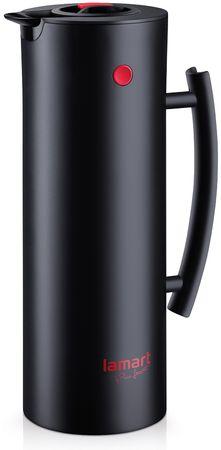 Lamart LT4011 termovska posoda Brille 1 l, črna
