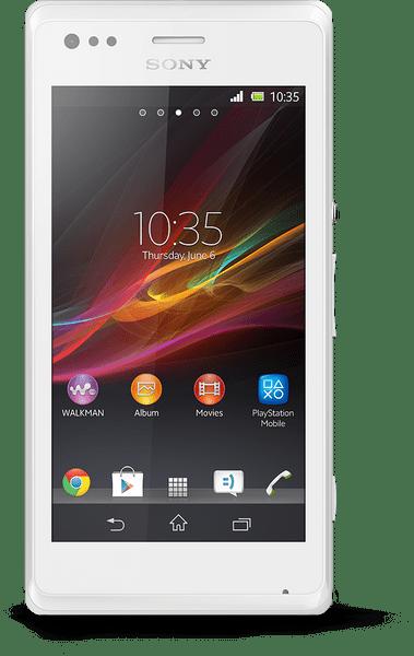 Sony Xperia M, C1905, bílá - II. jakost