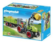 Playmobil Traktor Utánfutóval Játék