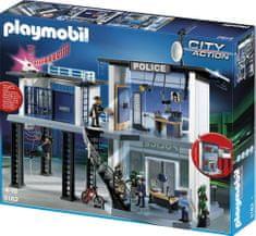 Playmobil Rendőrkapitányság riasztóval