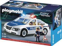 Playmobil Radiowóz policyjny z modułem świetlnym 5184
