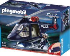 Playmobil 5183 Keresőlámpás rendőrhelikopter