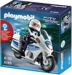 Playmobil 5185 Motoros rendőr