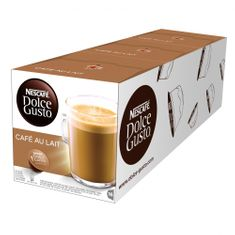 NESCAFÉ kavne kapsule Dolce Gusto Cafe Aulait, trojno pakiranje