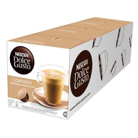 NESCAFÉ Dolce Gusto CORTADO kávékapszula 3 x 16 db