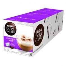 NESCAFÉ čajne kapsule Dolce Gusto Chai Tea Latte, trojno pakiranje