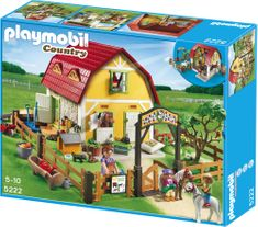 Playmobil Country Stajnia dla koni 5222