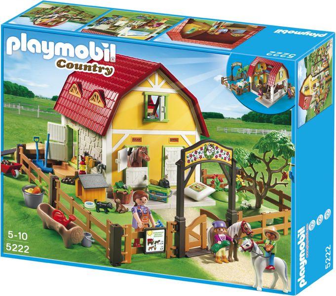 Playmobil 5222 Dětská farma s poníky - II. jakost