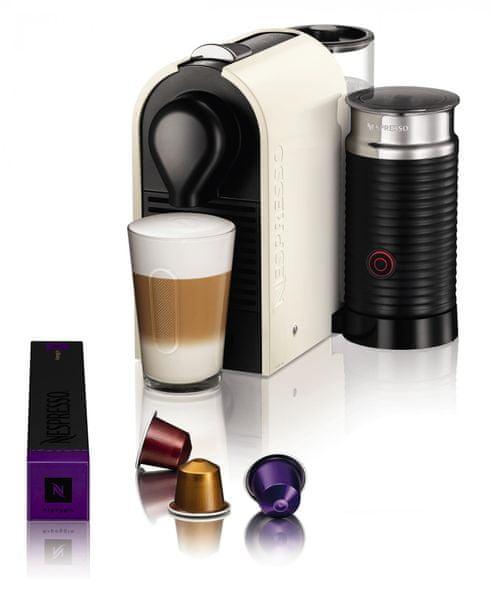 Nespresso Krups U&Milk XN2601 + voucher na kávu ZDARMA!