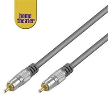 Home Theater HQ 1x cinch RCA, M/M, 0,75 m