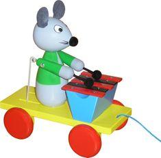 Miva Vacov Myš s xylofonem tahací