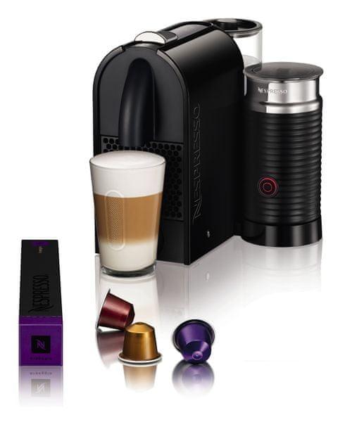 Nespresso DeLonghi U&Milk EN210.BAE + voucher na kávu ZDARMA!