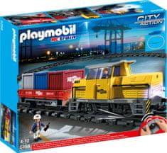 Playmobil 5258 Pociąg towarowy RC ze światłem i dźwiękiem