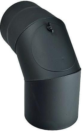 M.A.T Group dimno koleno s čistilno odprtino 130 mm, 90°