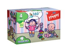 Bella Happy Pieluchy Maxi Big Pack - 140 szt