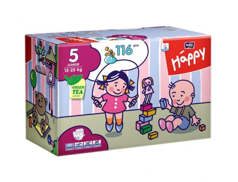 Bella Happy Junior Big Pack - 116 ks