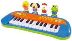 SIMBA Zongora zenélő játék, 34 cm